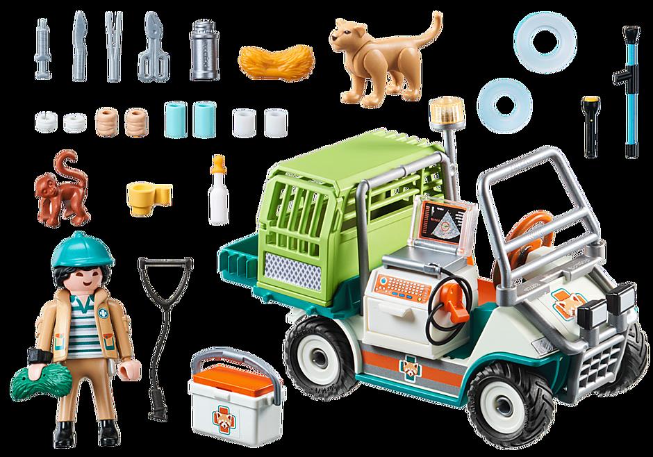 70346 Zoo-Tierarzt mit Fahrzeug detail image 4