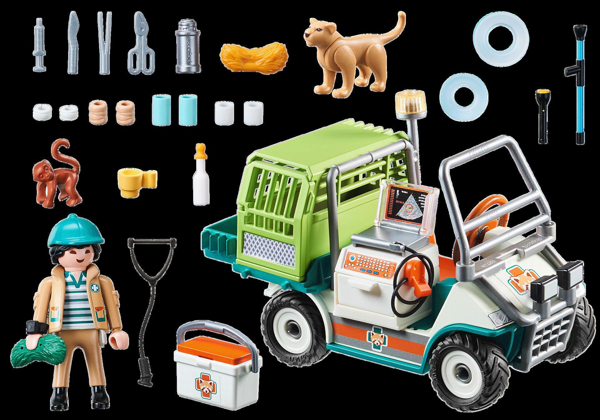 70346 Zoo-Tierarzt mit Fahrzeug zoom image4