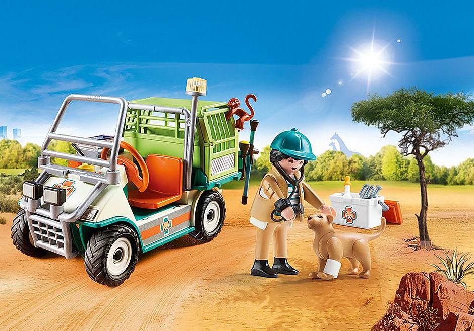 70346 Zoo-Tierarzt mit Fahrzeug detail image 1