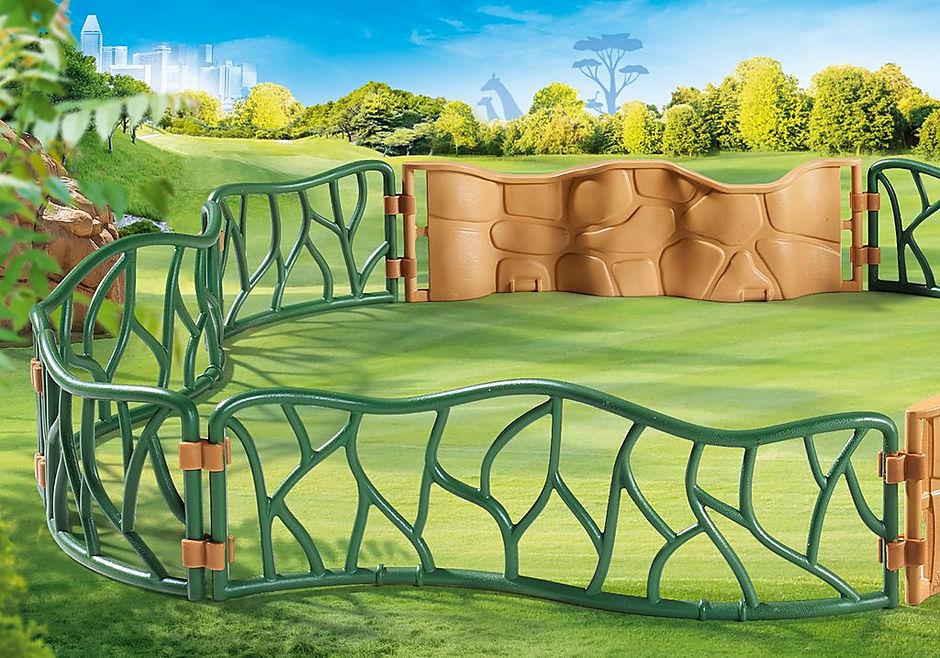 70347 Огороженные зоны в зоопарке detail image 1
