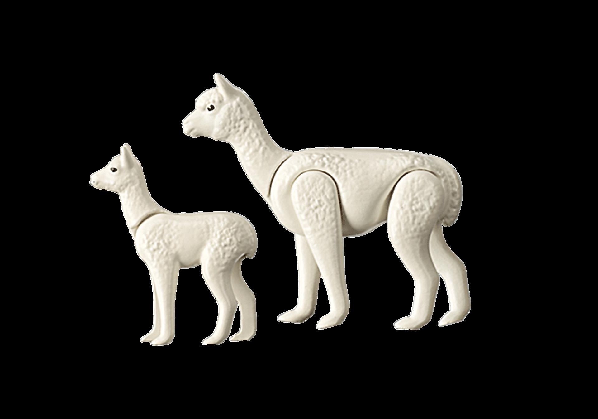 70350 Alpaca con cucciolo zoom image3