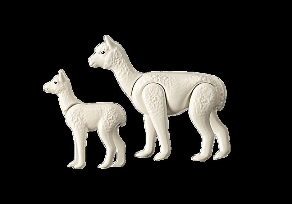 70350 Alpaca met baby detail image 3