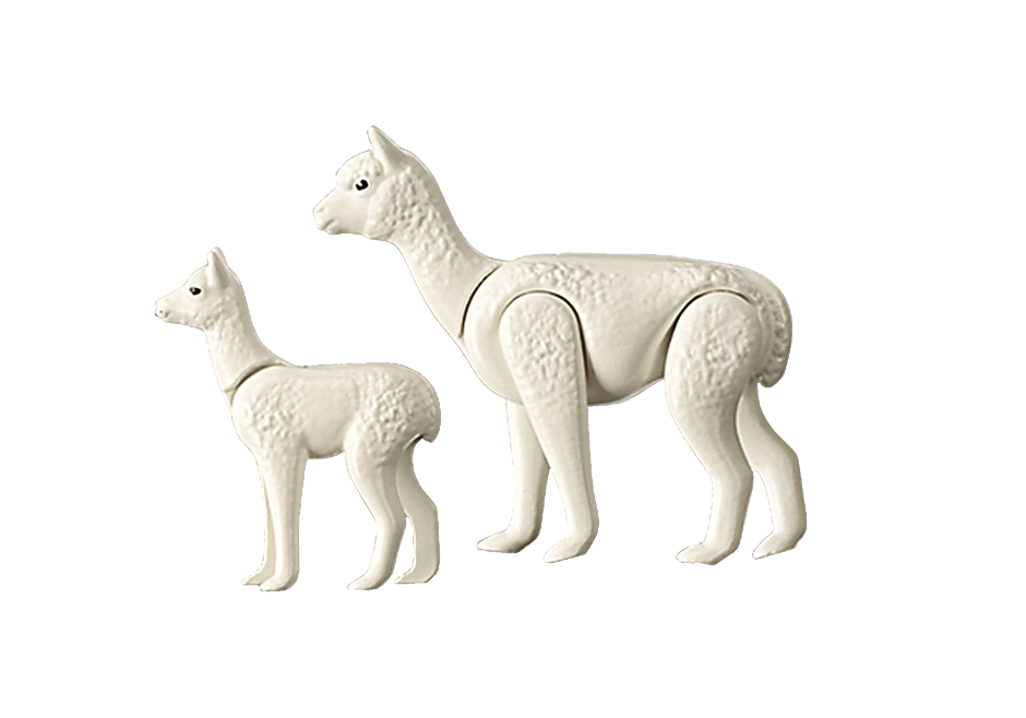 70350 Alpaca with Baby detail image 3