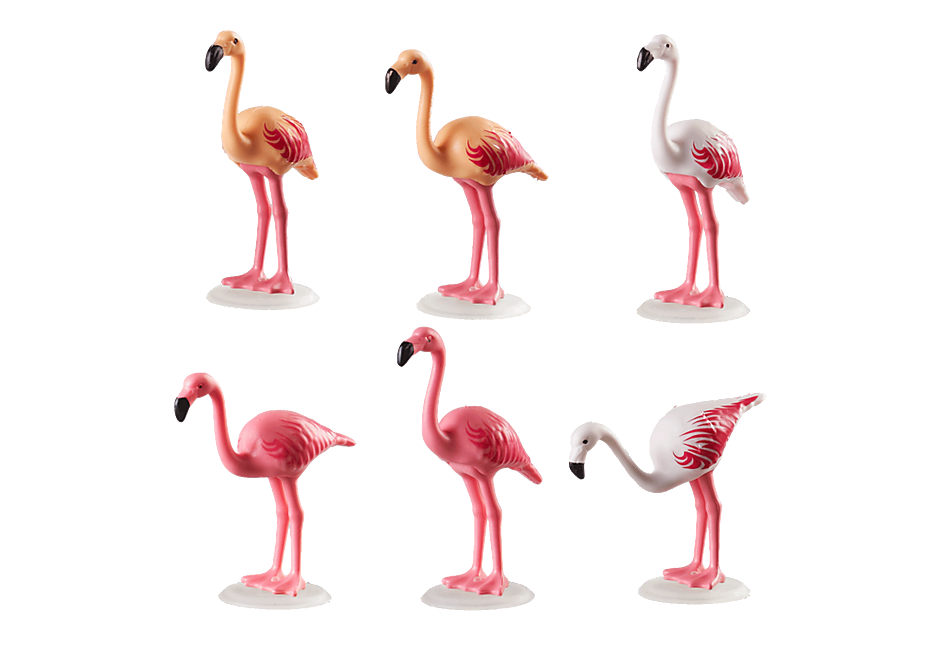 70351 Flock of Flamingos detail image 3