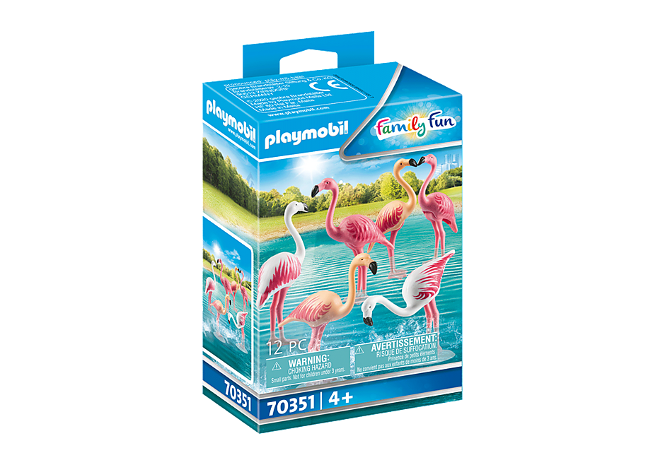 70351 Flamingoes (Bag) detail image 2