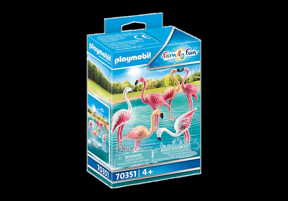 70351 Zwerm flamingo's detail image 2