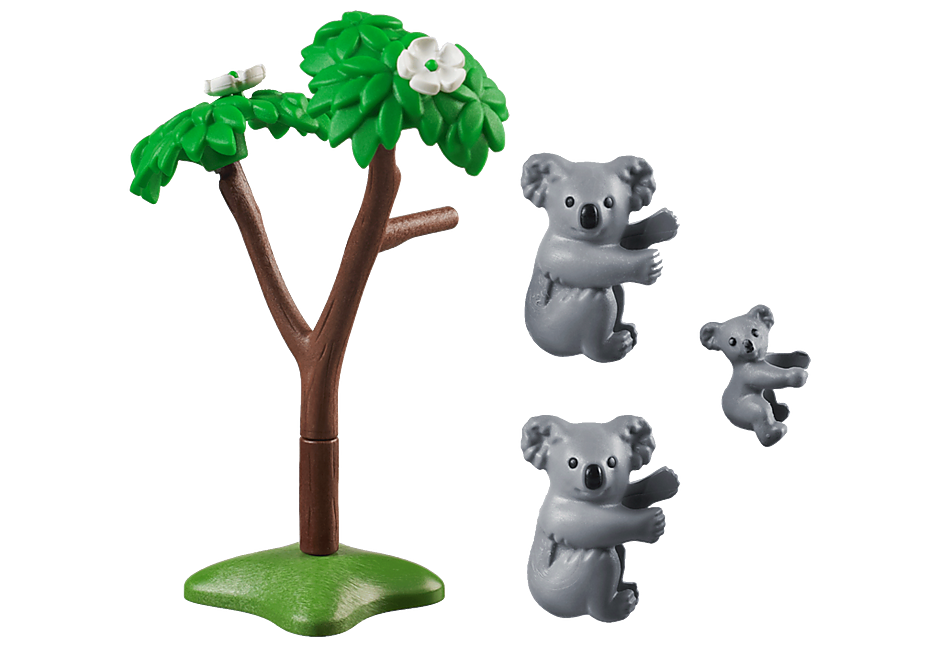 70352 2 Koala's met baby detail image 3