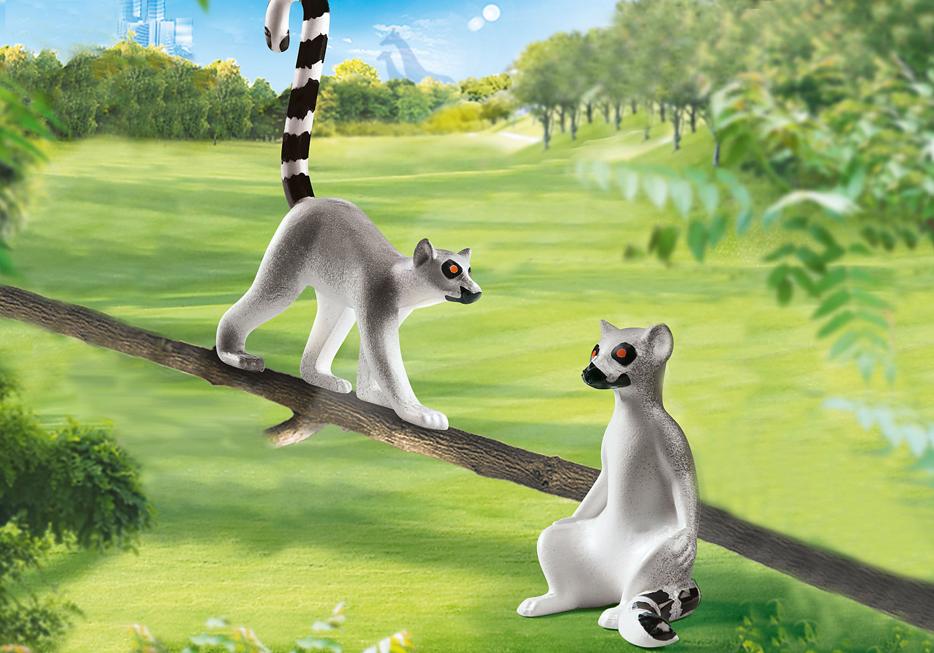 70355 Ring-tailed Lemurs (Bag) zoom image1