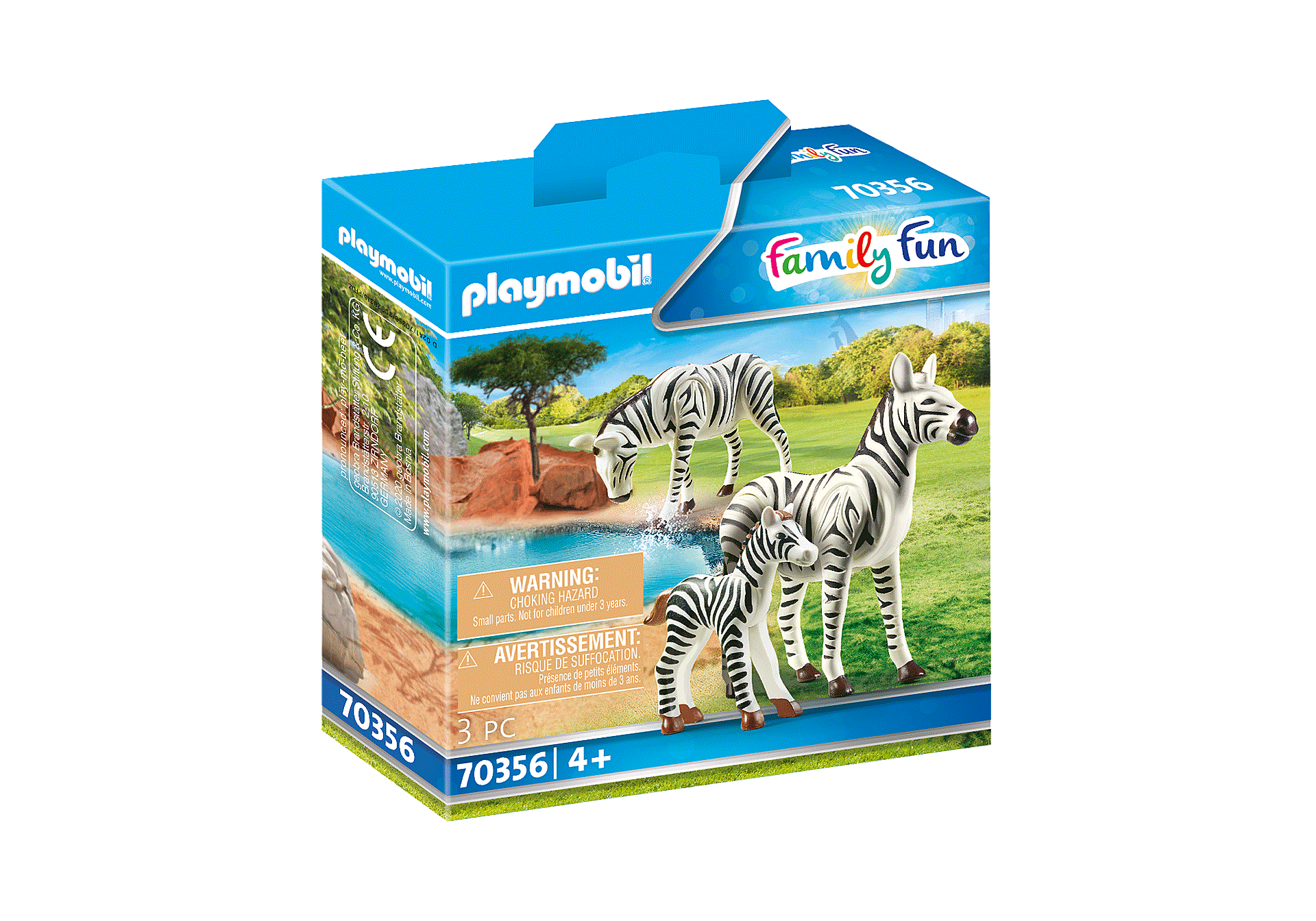 70356 Zebras with Foal zoom image2