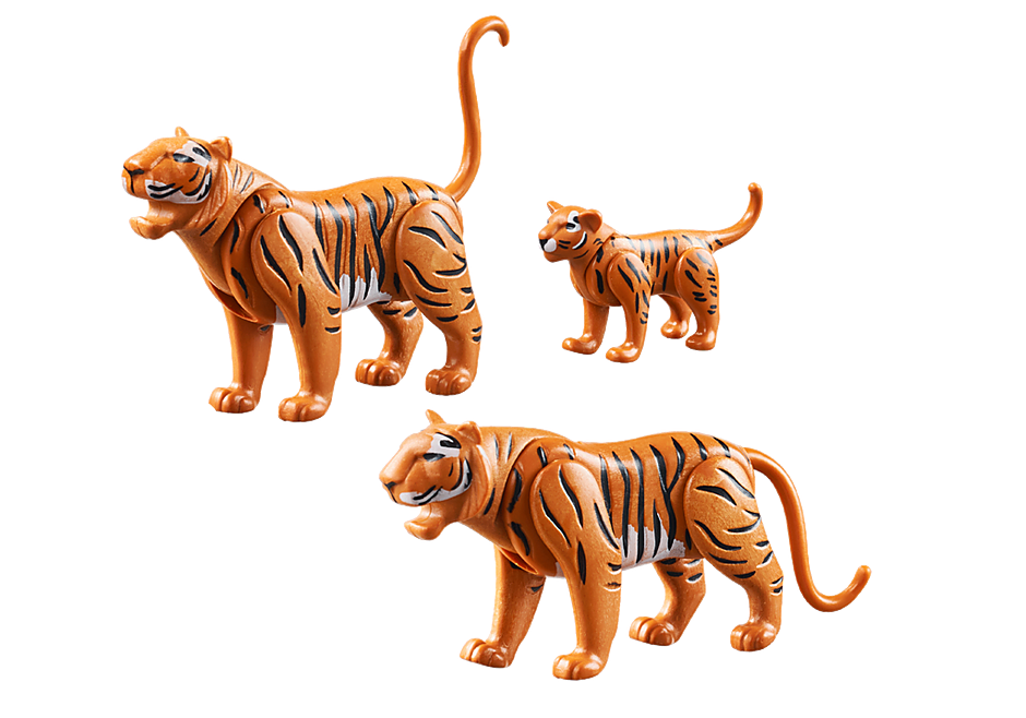 70359 Tigers with Cub detail image 3