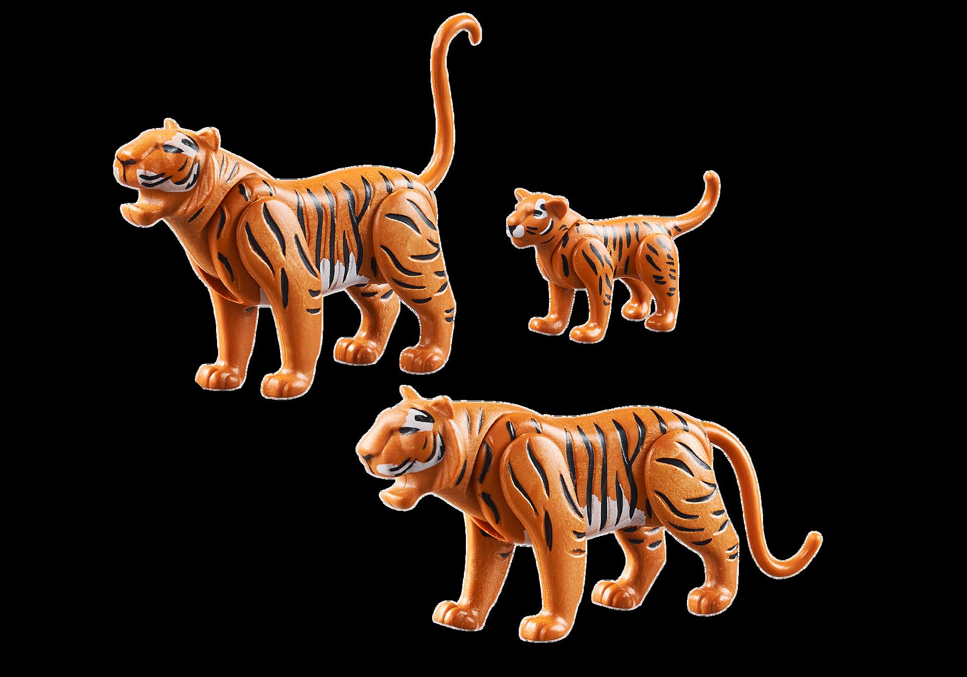 70359 Två tigrar med unge zoom image3