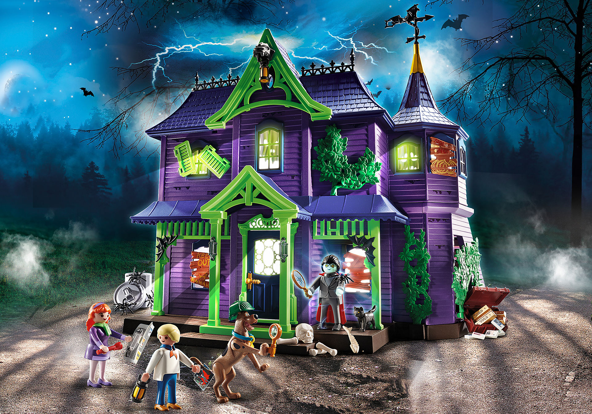 70361 SCOOBY-DOO! Adventure in the Mystery Mansion zoom image1