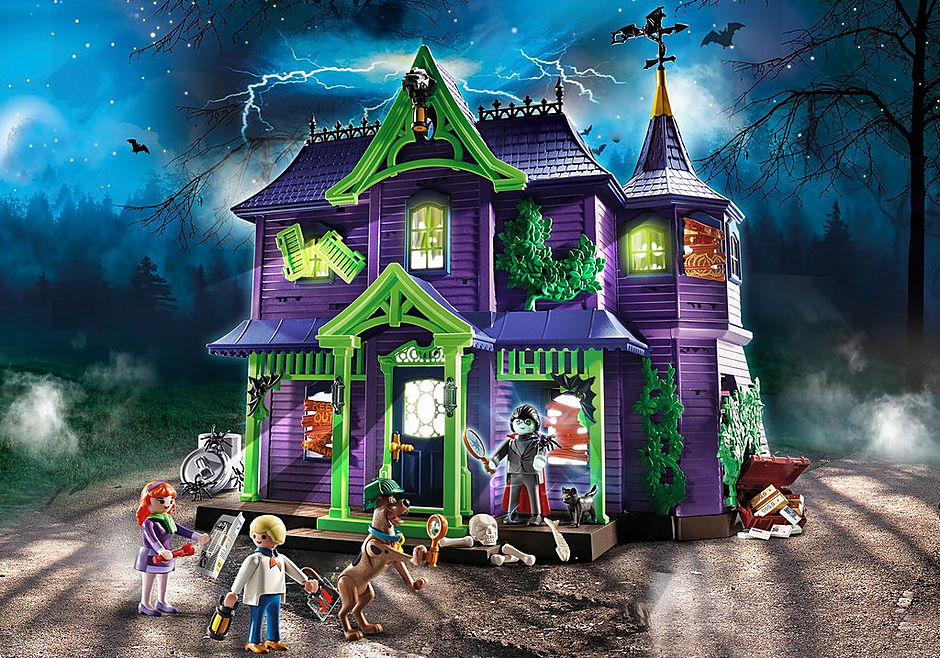 70361 SCOOBY-DOO! La Casa del Mistero detail image 1