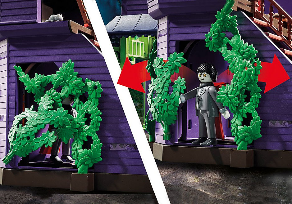 70361 SCOOBY-DOO! Avontuur in Mystery Mansion detail image 5