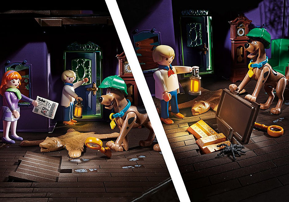 70361 SCOOBY-DOO! Avontuur in Mystery Mansion detail image 7