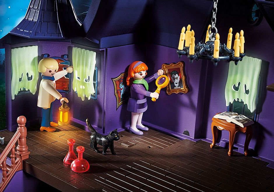 70361 SCOOBY-DOO! Avontuur in Mystery Mansion detail image 9
