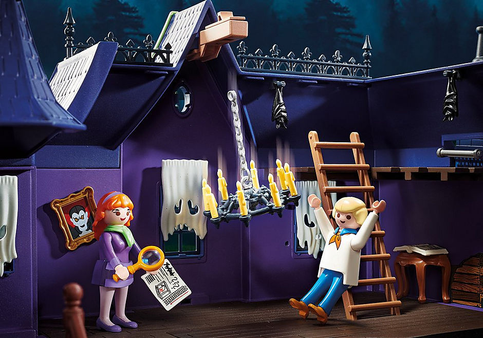 70361 SCOOBY-DOO! Adventure in the Mystery Mansion detail image 10