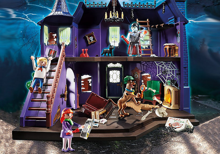 70361 SCOOBY-DOO! Adventure in the Mystery Mansion detail image 11