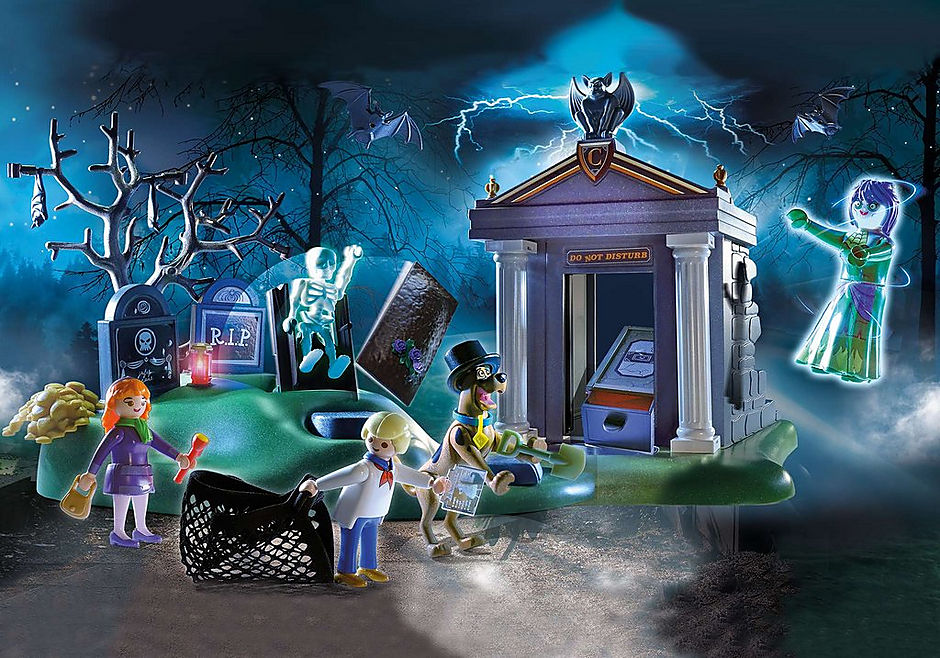 70362 SCOOBY-DOO! Adventure in the Cemetery detail image 1