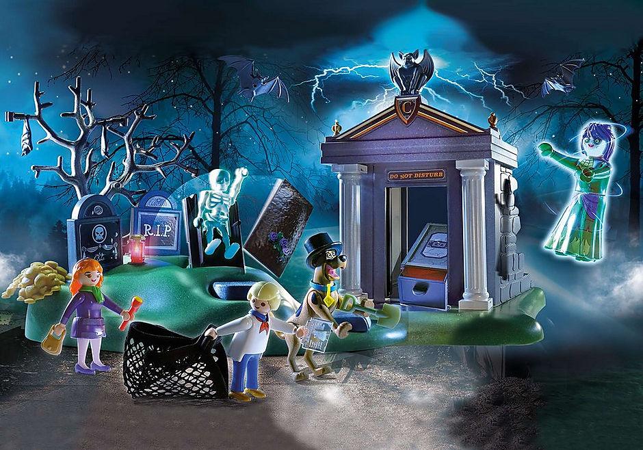 70362 SCOOBY-DOO! Eventyr på kirkegården detail image 1