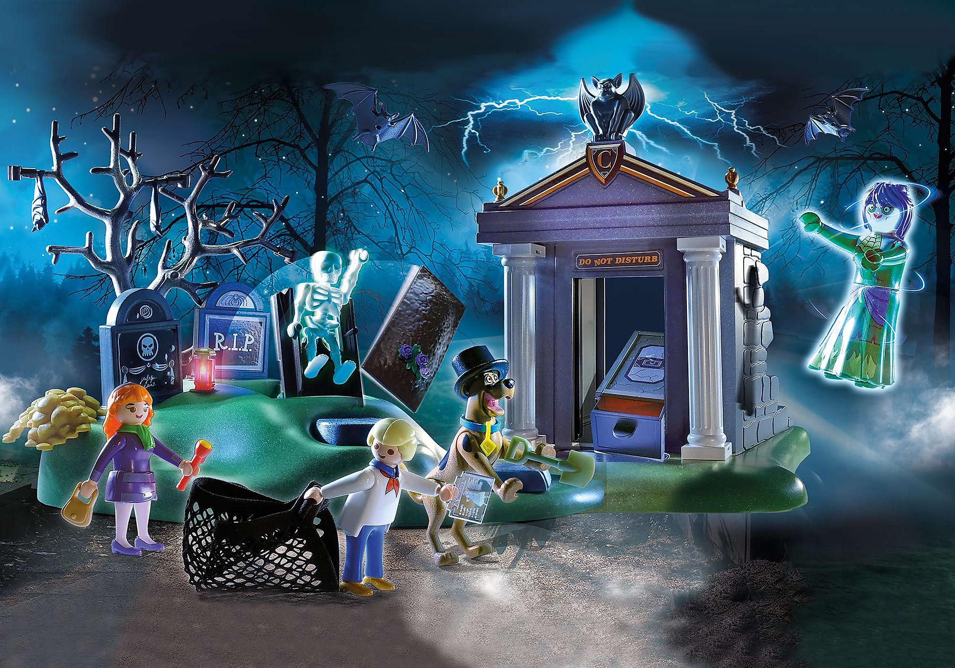 70362 SCOOBY-DOO Aventura en el Cementerio zoom image1