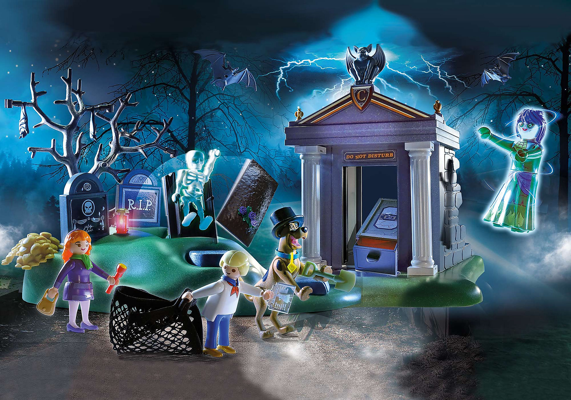 70362 SCOOBY-DOO Aventura no Cemitério zoom image1