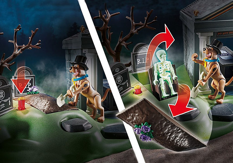 70362 SCOOBY-DOO! Adventure in the Cemetery detail image 6