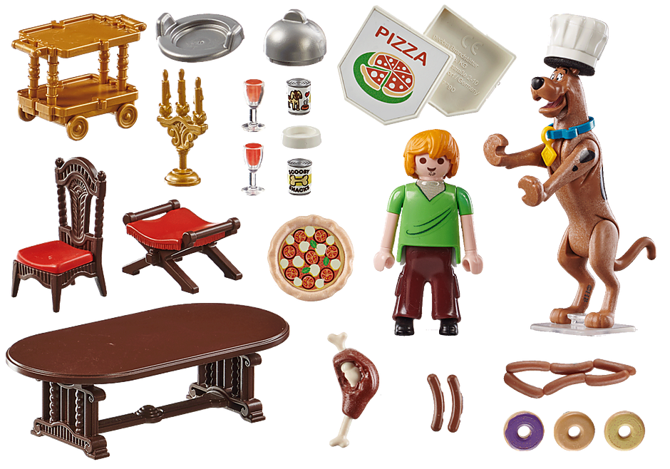 70363 SCOOBY-DOO! Abendessen mit Shaggy detail image 4