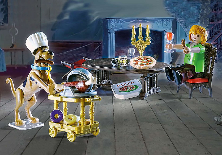 70363 SCOOBY-DOO! Salle de diner avec Sammy detail image 1