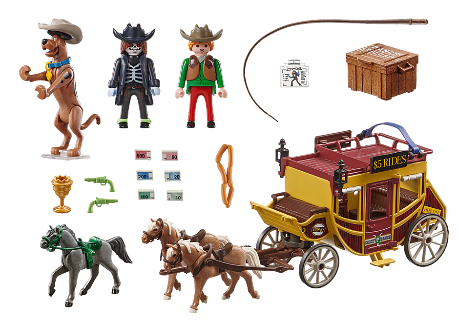 70364 SCOOBY-DOO! Adventure in the Wild West detail image 3