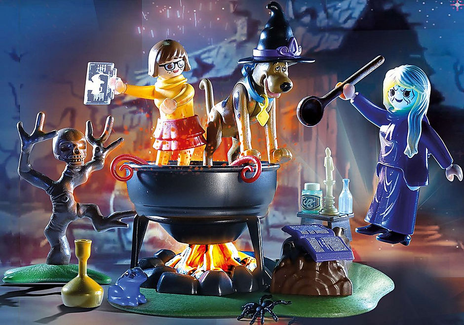 70366 SCOOBY-DOO! Adventure in the Witch's Cauldron detail image 1