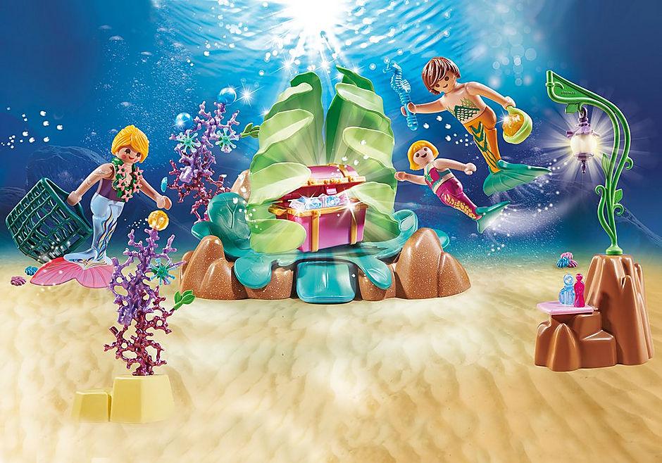 70368 Koraalbar met zeemeerminnen detail image 1