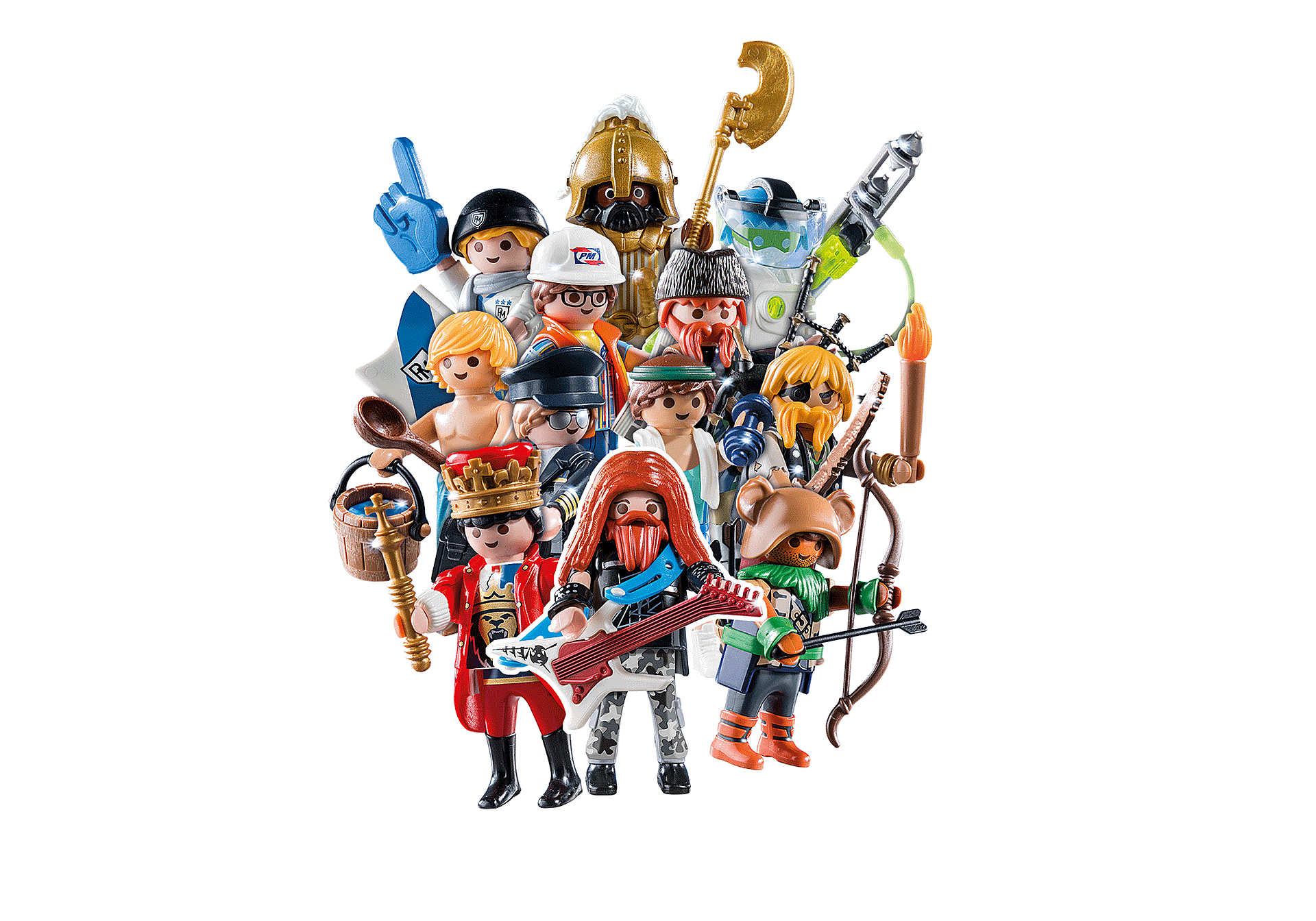 70369 PLAYMOBIL Figures Series 18 - Boys zoom image1