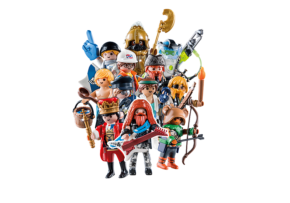 70369 PLAYMOBIL Figures Series 18 - Boys detail image 1