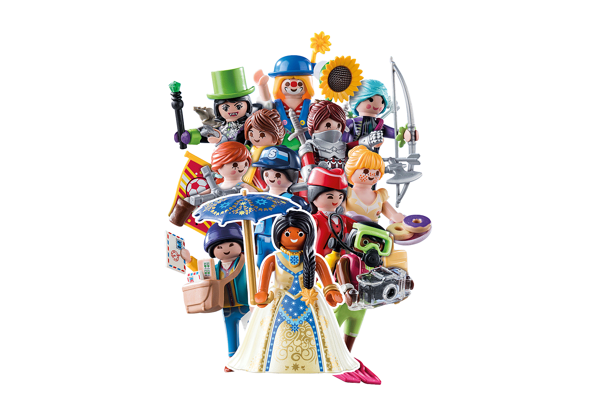 70370 PLAYMOBIL Figures Girls (Serie 18) zoom image1