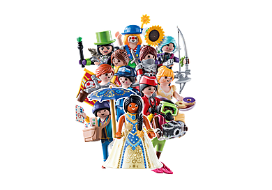 70370 PLAYMOBIL Figures Series 18 - Girls