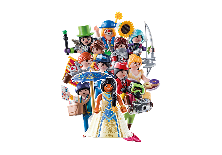 70370 PLAYMOBIL-Figures Girls (Serie 18) detail image 1