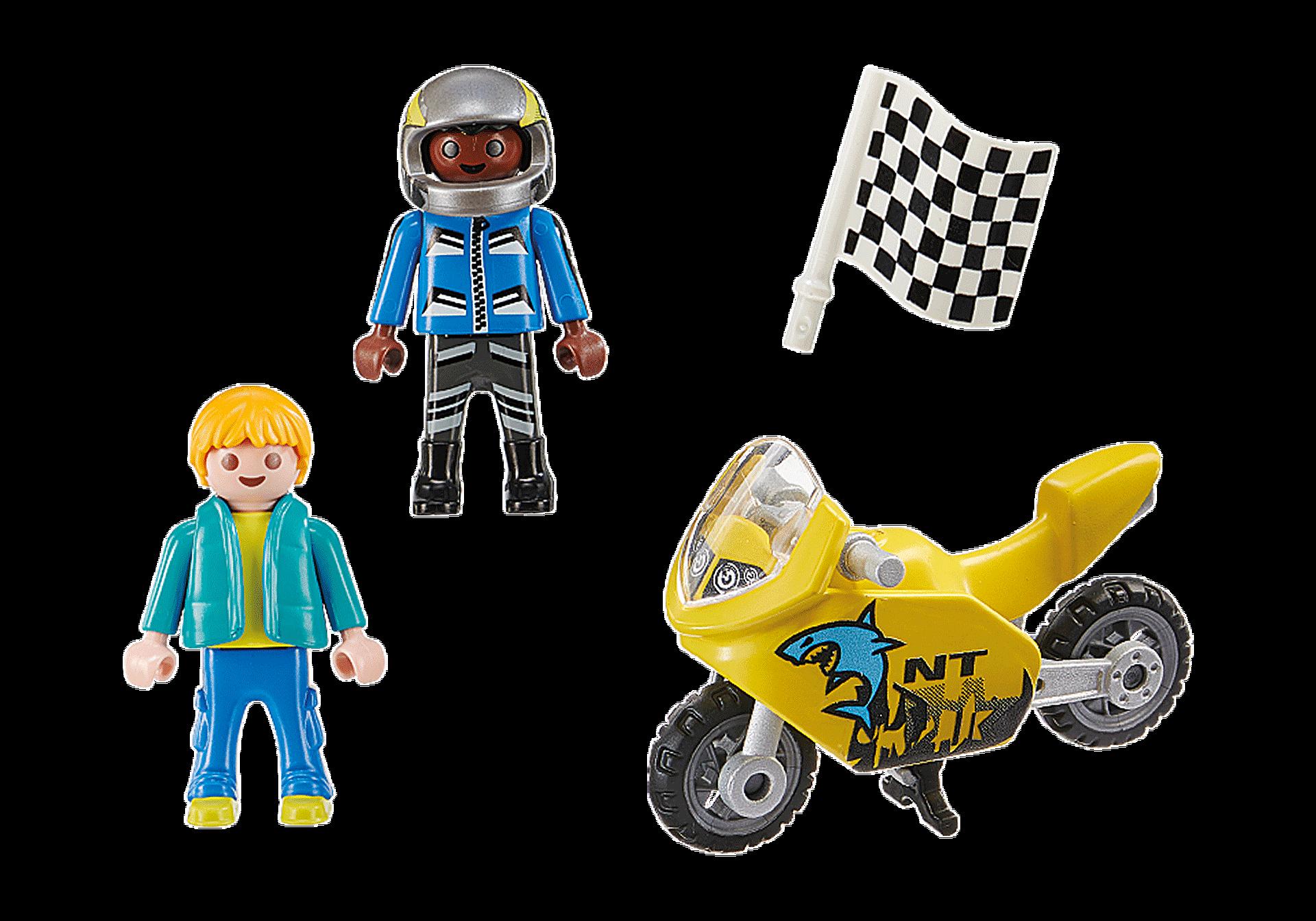 70380 Pojkar med racercykel zoom image3
