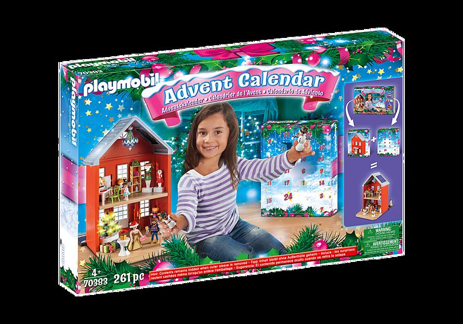 70383 Adventskalender XL Kerst in huis detail image 2