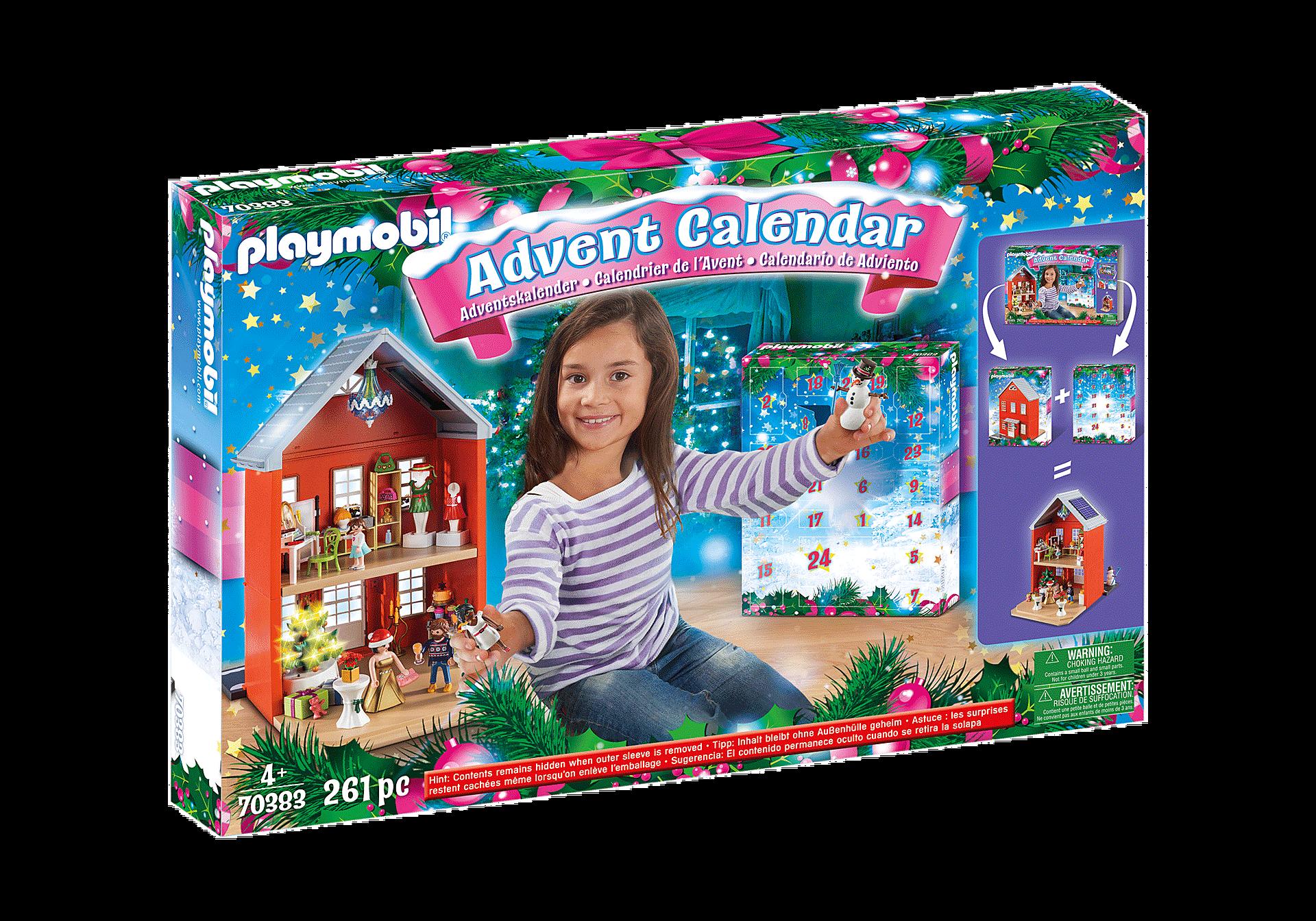 70383 Calendario de Adviento Grande Navidad en la Ciudad zoom image2