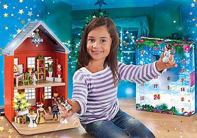 70383 Calendario de Adviento Grande Navidad en la Ciudad