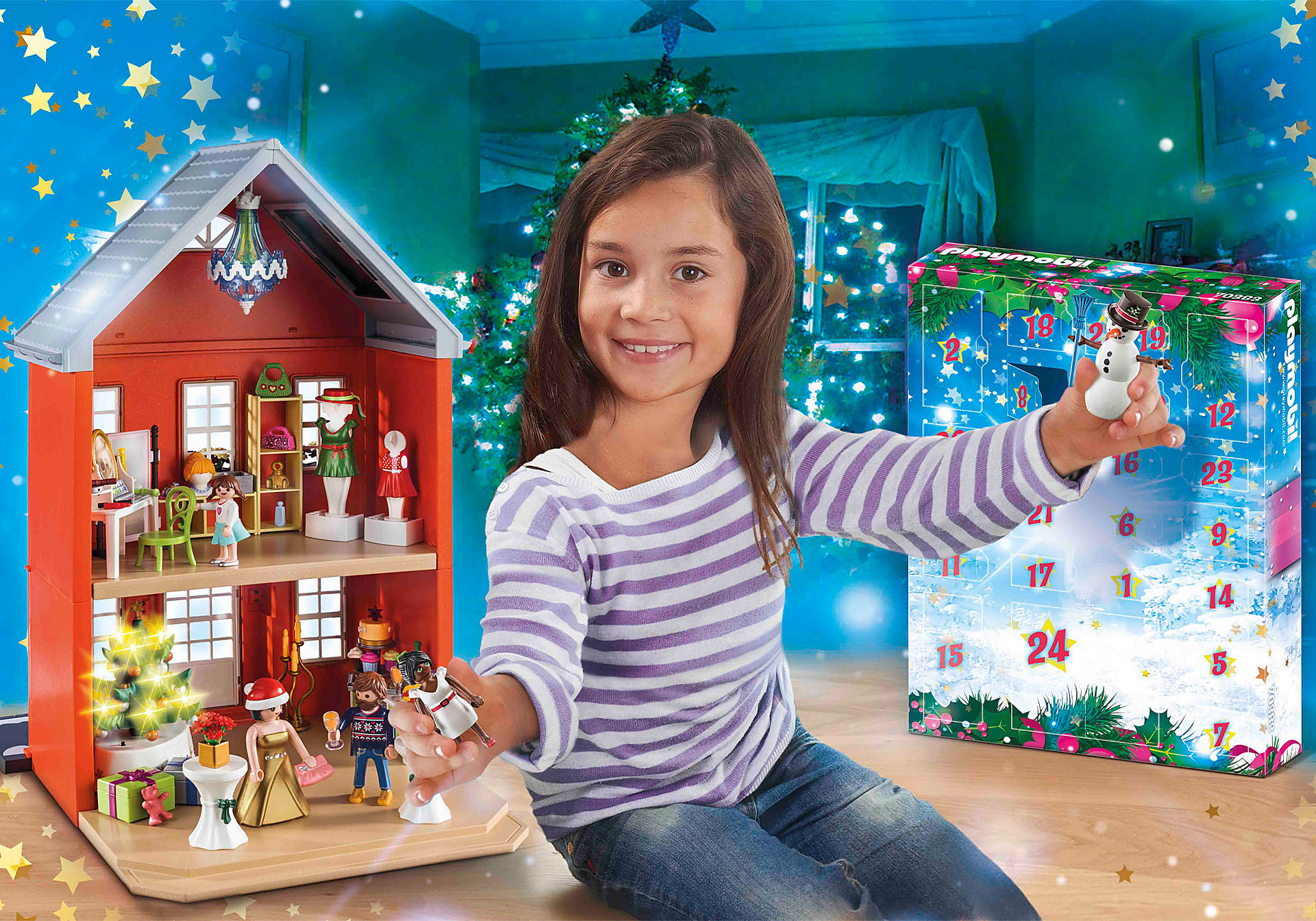 70383 Jumbo Advent Calendar - Family Christmas zoom image1