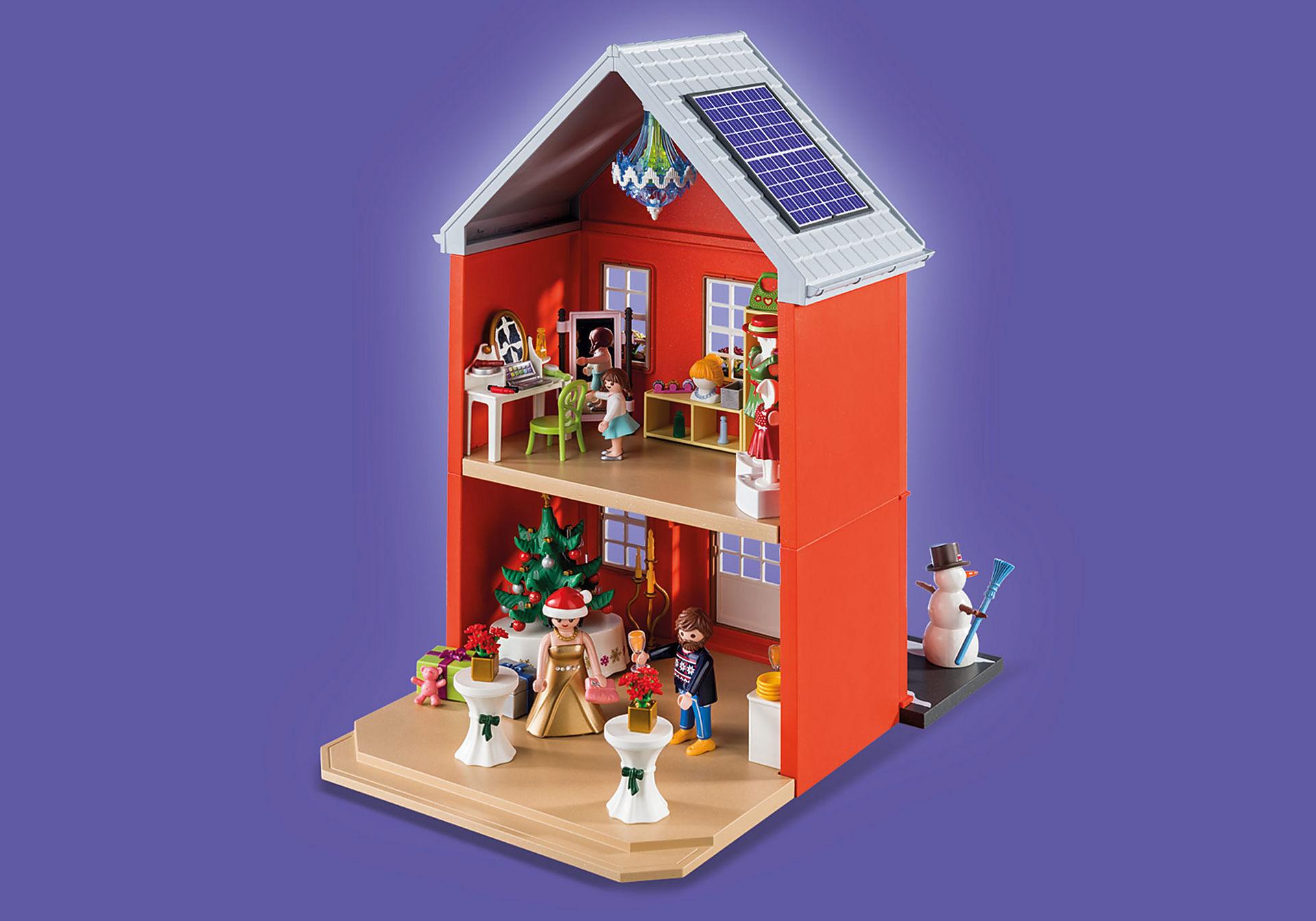 70383 Calendrier de l'Avent Père Noël dans la ville zoom image4