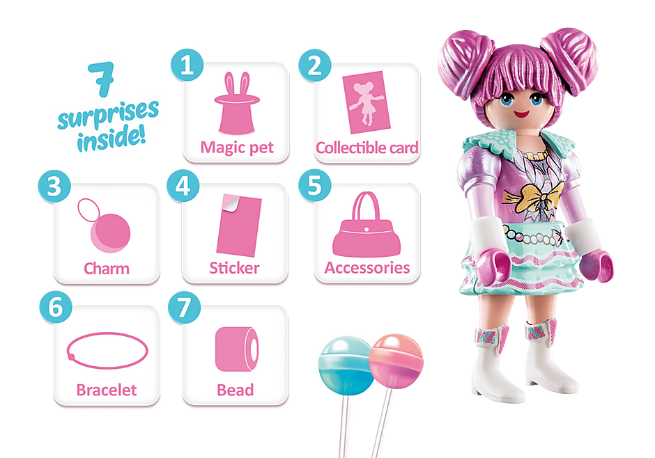 70385 Candy World - Rosalee detail image 3