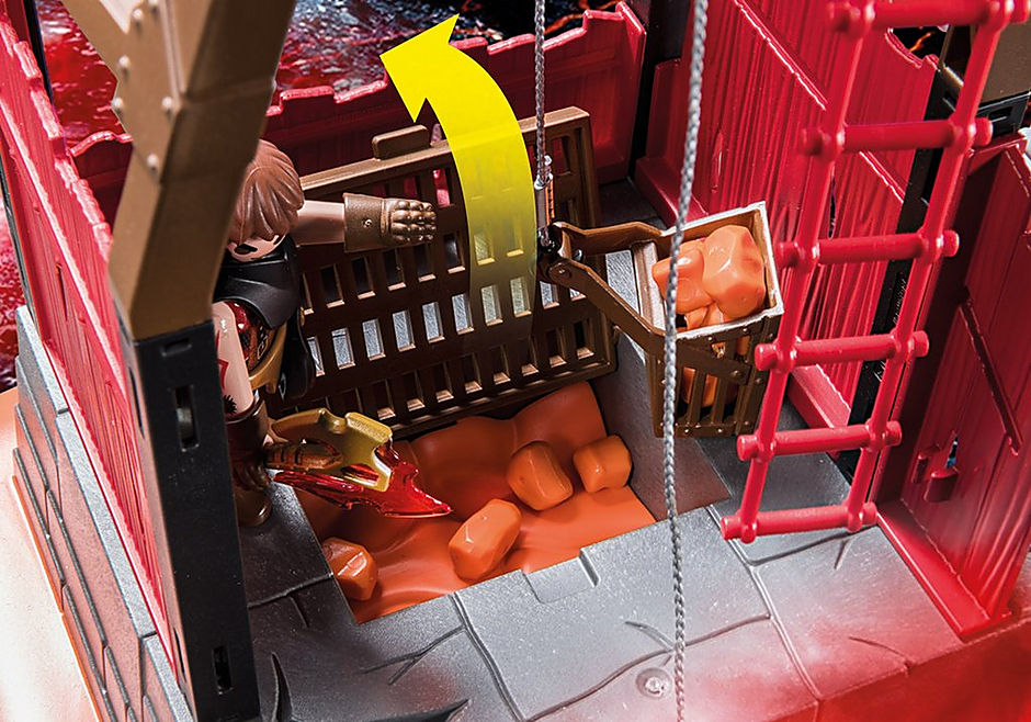 70390 Burnham Raiders Lavamine detail image 4