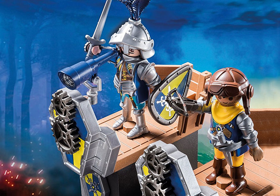 70391 Tour d'attaque mobile des chevaliers Novelmore detail image 4
