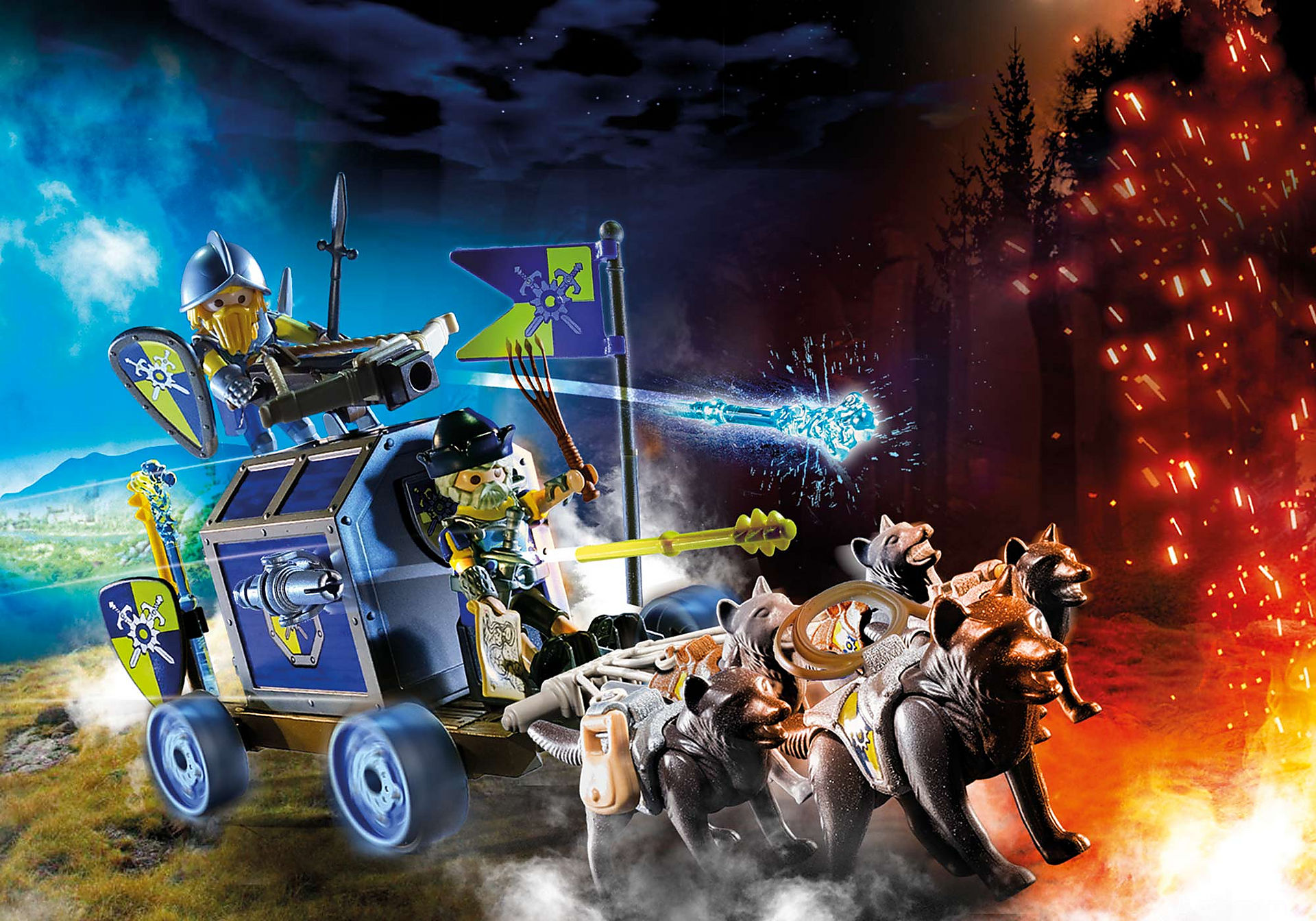 70392 Char du trésor des chevaliers Novelmore zoom image1