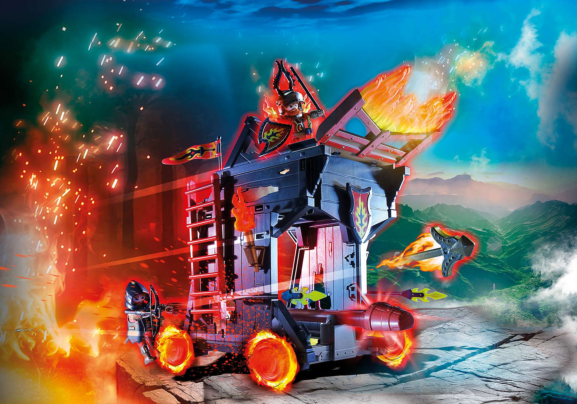 70393 Burnham Raiders Fire Ram zoom image1
