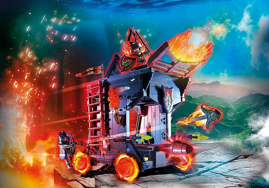 70393 Burnham Raiders eldmurbräcka detail image 1