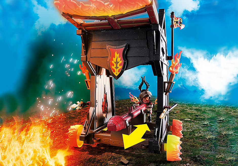 70393 Ariete de Fuego de los Bandidos de Burnham detail image 4